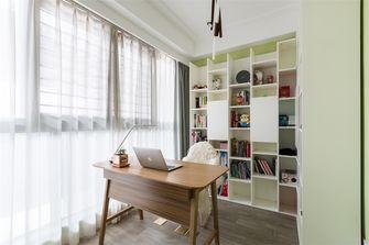 10-15万90平米三室两厅北欧风格书房效果图