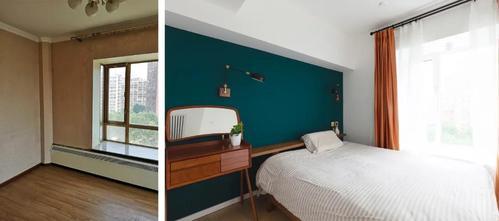 豪华型60平米混搭风格卧室图片