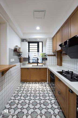 120平米三室一厅新古典风格厨房装修图片大全