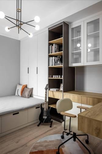 经济型120平米三现代简约风格书房装修图片大全