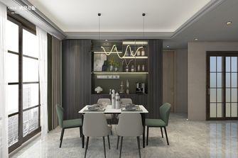 140平米四室两厅轻奢风格餐厅装修案例