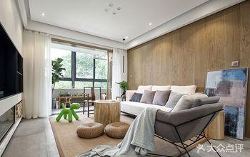 富裕型80平米现代简约风格客厅欣赏图