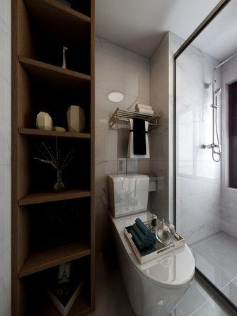 60平米一居室现代简约风格卫生间图片大全