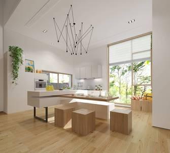 140平米别墅田园风格厨房装修效果图