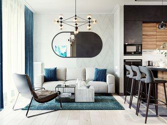 经济型50平米一居室现代简约风格客厅图片大全