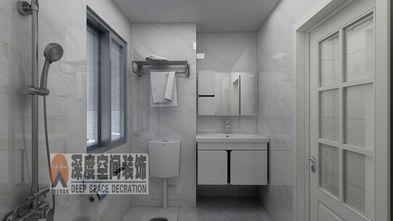 富裕型130平米三室两厅现代简约风格卫生间装修图片大全