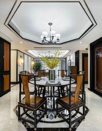 140平米三室三厅中式风格餐厅欣赏图