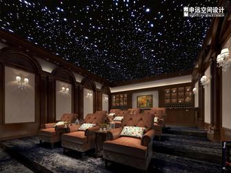 20万以上140平米别墅欧式风格影音室图片大全
