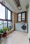 富裕型130平米三室两厅美式风格阳台效果图