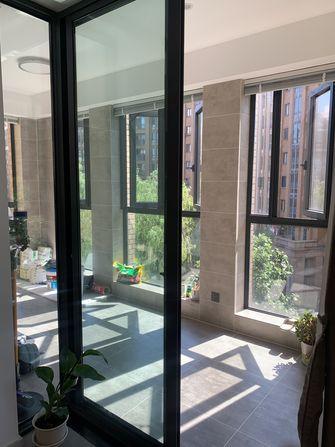 140平米三室一厅现代简约风格阳台图