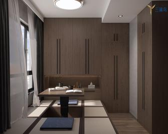 富裕型120平米一居室现代简约风格餐厅装修效果图