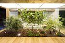 120平米复式混搭风格客厅装修案例