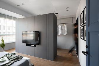 豪华型140平米三室两厅工业风风格卧室装修图片大全