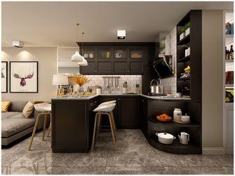 5-10万80平米三室一厅北欧风格厨房装修案例