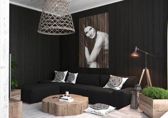 5-10万一室一厅港式风格客厅效果图