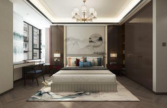 140平米三室三厅中式风格卧室装修图片大全