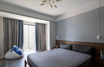 3-5万120平米三室两厅现代简约风格卧室效果图