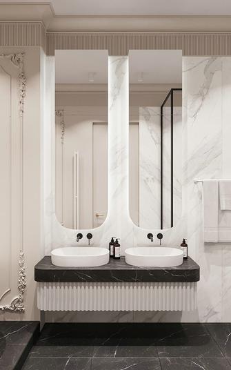 140平米三欧式风格卫生间装修案例