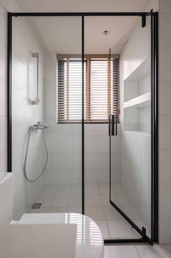 120平米三室三厅日式风格卫生间设计图