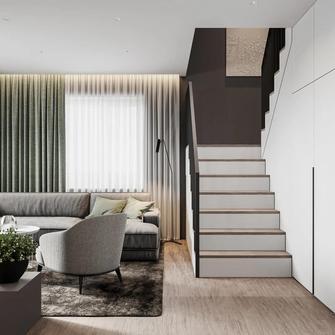 20万以上140平米复式轻奢风格客厅装修案例