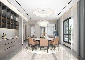 140平米别墅现代简约风格餐厅效果图