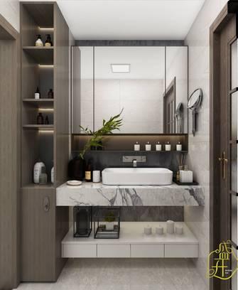 130平米四室四厅中式风格卫生间装修案例