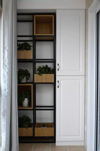 富裕型100平米三室两厅北欧风格阳台欣赏图