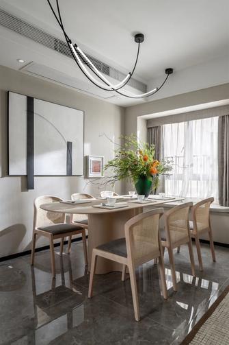 富裕型110平米三现代简约风格餐厅图