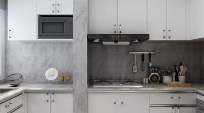 豪华型130平米三室一厅美式风格厨房图片大全