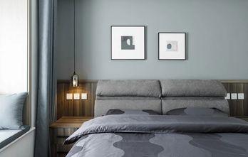 经济型90平米公寓混搭风格卧室设计图