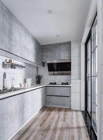 经济型110平米三室一厅北欧风格厨房图片