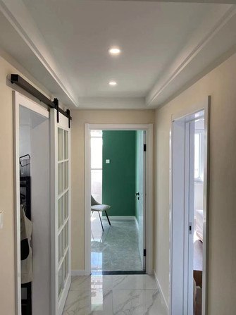 10-15万80平米现代简约风格走廊图片