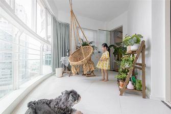 90平米日式风格阳台装修效果图