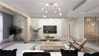 富裕型110平米四室两厅北欧风格客厅效果图