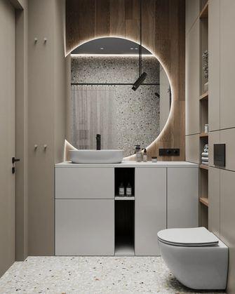 经济型40平米小户型现代简约风格卫生间装修案例