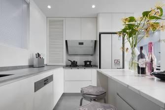70平米现代简约风格厨房装修效果图