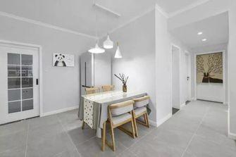 三室两厅北欧风格餐厅装修案例