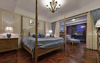140平米四美式风格卧室欣赏图