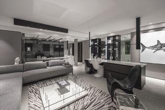 80平米一室两厅现代简约风格客厅效果图