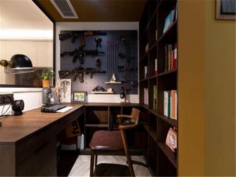 5-10万110平米三室两厅轻奢风格书房装修效果图