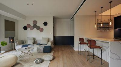 富裕型120平米北欧风格客厅图片大全