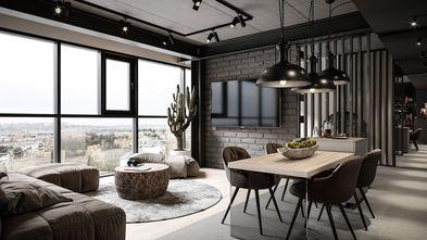 50平米公寓工业风风格客厅欣赏图