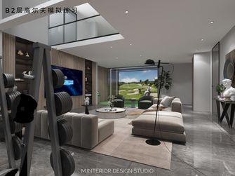 20万以上140平米别墅现代简约风格健身房装修效果图