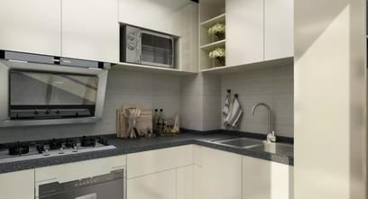 富裕型三室三厅混搭风格厨房设计图