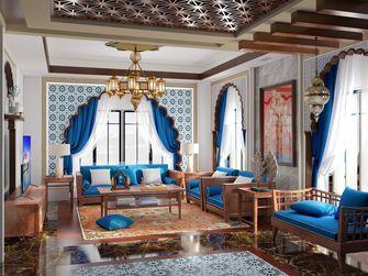 富裕型130平米四室两厅东南亚风格客厅装修案例
