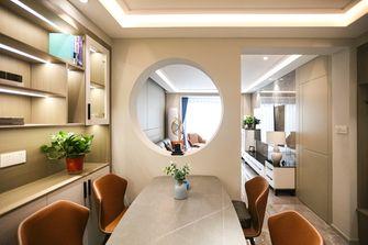 富裕型80平米一室两厅现代简约风格餐厅图