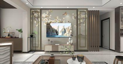 90平米三中式风格客厅欣赏图