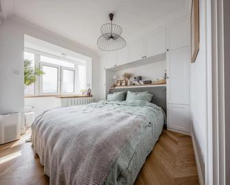 经济型40平米小户型北欧风格卧室效果图