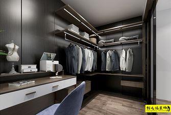 10-15万120平米三室两厅美式风格衣帽间图片