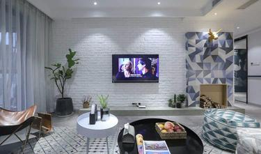 富裕型140平米四室一厅北欧风格客厅设计图